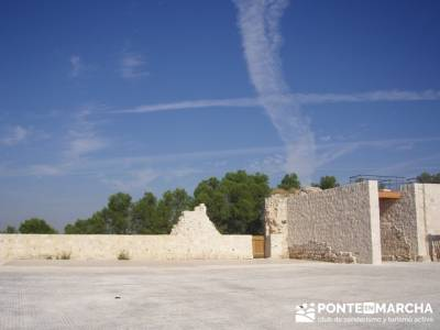 Íscar - Ruta de castillos - Castillos Valladolid - Castillos Segovia - Castillo Iscar; gente para v